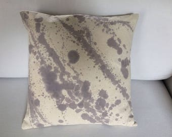 "Collection ""Prints industrial"" 100% cotton cushion"