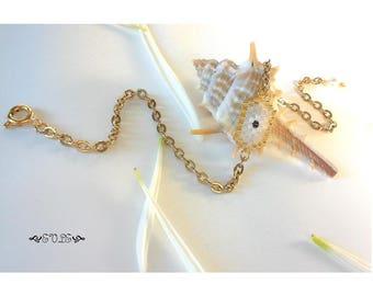 Evil Eye Bracelet, Mauvais Oeil, Mati Bracelet, Nazar, Mal De Ojo bracelet, Miyuki Delica, Woven Bead Bracelet, Gift for her, Many Colours