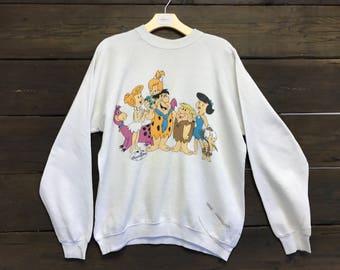 Vintage 90s Fintstones Sweatshirt