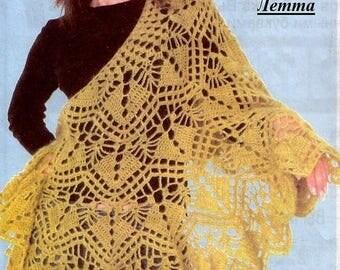 Crochet Patterns Shawl Pattern Angora Shawl Crochet Pattern Open Shawl Pattern Lace Shawl Shawl Patterns Crochet Shawl Scarf pattern