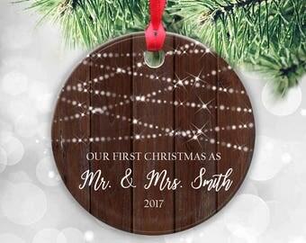 Newlywed christmas | Etsy