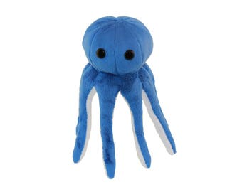 Octopus Plush Toy Sewing Pattern PDF Tutorial Instant Download MEMORY Octopus Pattern Ocean Animal Sea Animal Cephalopod