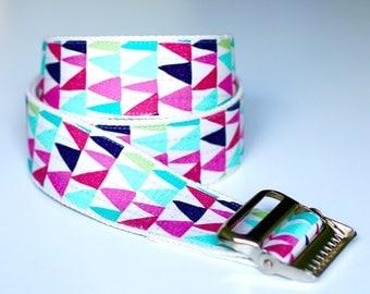 "High Quality Custom Gait Belt and Badge Reel ""The Sara"""