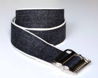 "High Quality Custom Gait Belt and Badge Reel ""The Drew"""