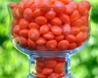1 pound of orange Skittles