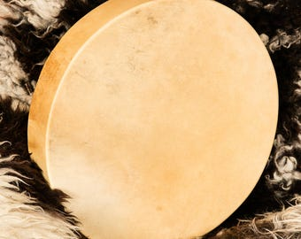 Commission a Reindeer Shamanic Drum & Beater: SAMPLE