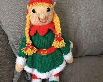 Elfette handmade toy