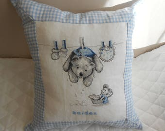 decoration for baby boy pillow cover