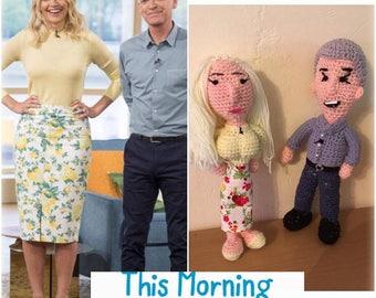Celebrity Amigurumi Crochet Dolls
