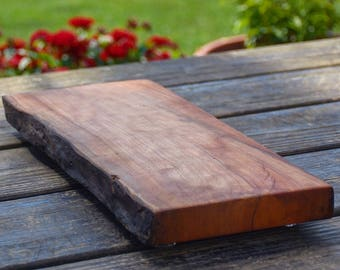 Live Edge Reclaimed Wood Cutting Board
