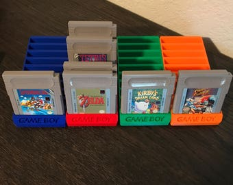 Gameboy cartridge holder