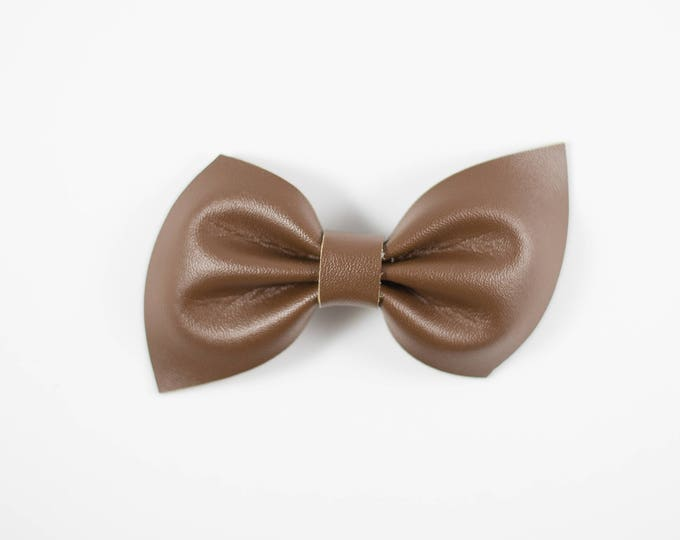 Brooke bow || Chocolate