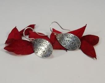 When the wind blows earrings - Handmade in 925 silver