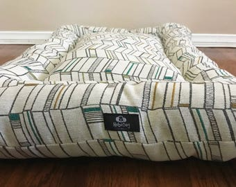 Modern Industrial Dog Bed, Dog Bedding, Crate Bed, Custom Dog Bed, Dog Cover, Puppy Bed, Pet Mat