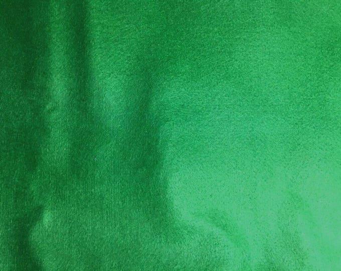 Sold individually, leaf green fine felt 30 x 20 cm