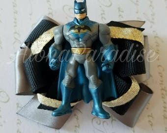 Batman OOAK Hand Made Hair Bow