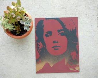 Original Lana Del Rey Painting