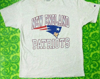 Vintage Champion t shirt 1995 NFLP New England Patriot t shirt / vintage Champion shirt