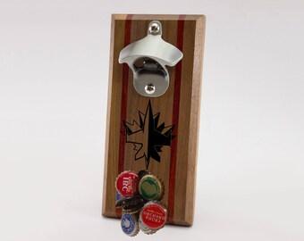 Winnipeg Jets Magnetic Bottle Opener