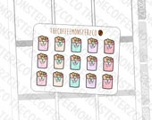 Grocery Bag Doodles (Until June 17th, at 12 PM PST)- emoti planner stickers E249