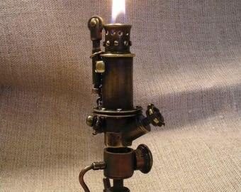 """Steampunk lighter  """" Hydraulics """" , gasoline."""