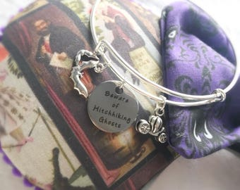 Haunted Mansion inspired Bangle Bracelet