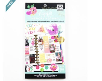 Create 365® Happy Memory Keeping™ BIG Sticker Sheets, Floral Memories