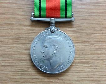British World War 2 Defence Medal