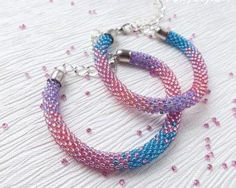 pink bracelet beaded bracelet blue bracelet wedding bracelet friendship bracelet bridal bracelet minimalist bracelet victorian bracelet yoga