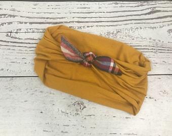Top Knot Turban Headband