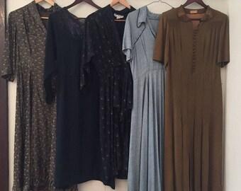 5 X Women's Vintage Dresses