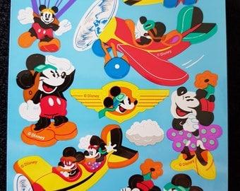 PLASTIC sticker paper Mickey MOUSE
