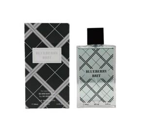 Blueberry Brit Eau De Toilette Spray 3.3oz Perfume For Men  Impression of Burberrybrit