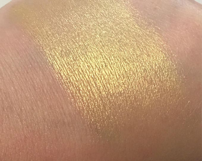 South Beach pressed highlighter -  Sunny Gold