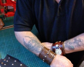 Leather Wrist Strap (Single)