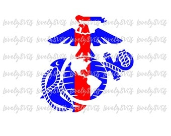 Instant Download SVG Studio3 - Marine Corps EGA - Silhouette Cricut File
