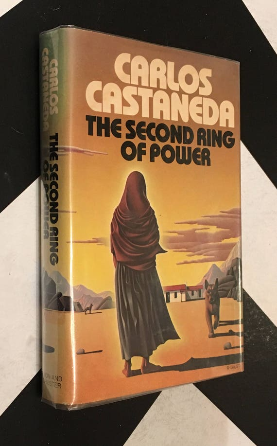 The Second Ring of Power by Carlos Castaneda vintage classic esoteric occult mystical book (Hardcover, 1977)