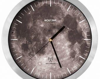 La Lune Radio Controlled Wall Clock - MSF UK Signal