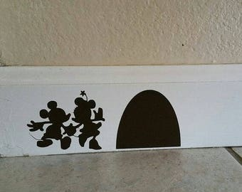 Wall Decal/Mouse Monogram /Mouse Decal/Vinyl Decal/Nursery Decals/Classroom/Baby Room/Toddlers Rooms/Wall Art/Kids Room