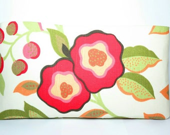 Colorful clutch - flower purse - floral clutch - clutch purse - handmade handbags - summer clutch - gift for her - floral clutch purse