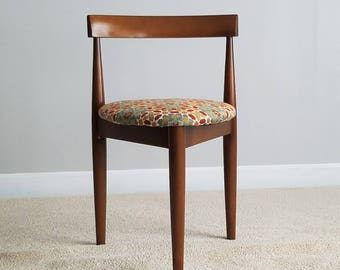 Holabird Three Legged Chair - Newly Reupholstered