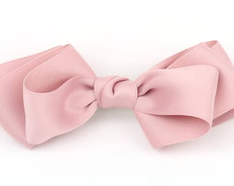 Hair Bows, Hair Ribbon, Hair Bows for Women, Big Hair Bows, Hair Pins Fabric ribbon Bows Pink Ribbon Bows