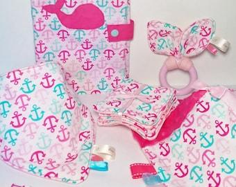 Baby girl - sailor theme baby gift box