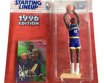 NBA Starting Lineup SLU Joe Smith Action Figure Golden State Warriors 1996