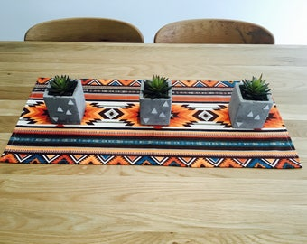 SOUTHWESTERN TABLE RUNNER, southern inspired