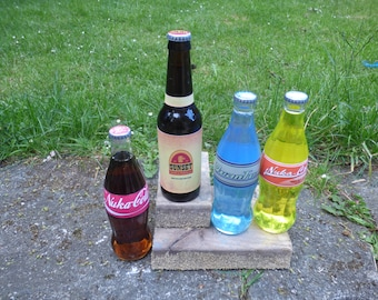 Cola bottle set of 4