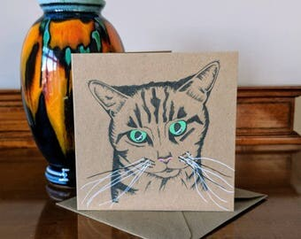 Cat Greetings Card, Cat All Occasions Card, Cat Lovers