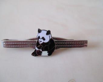 Silver tie clip