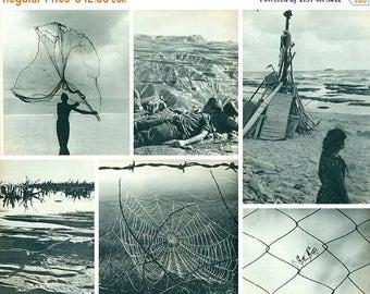 20 % OFF Rare Vintage Book of photographies // C'EST La Terre // Paysages d Israel // Peter Merom
