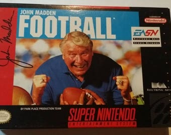 Authentic John Madden Football Complete in box